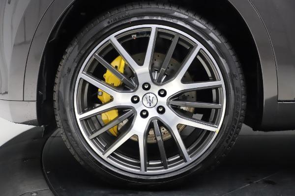 New 2020 Maserati Levante S Q4 GranLusso for sale $100,485 at Alfa Romeo of Greenwich in Greenwich CT 06830 16
