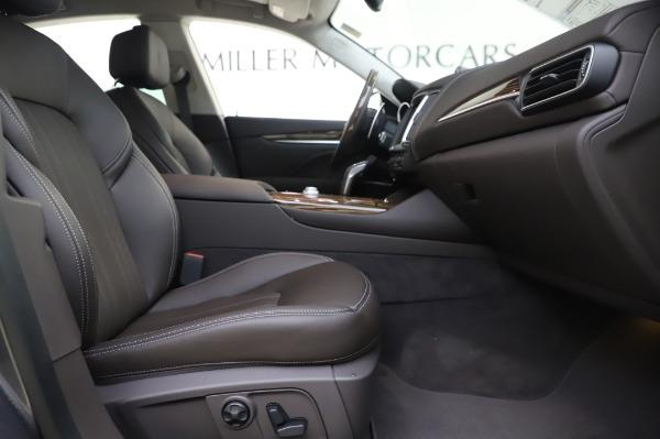 New 2020 Maserati Levante S Q4 GranLusso for sale $100,485 at Alfa Romeo of Greenwich in Greenwich CT 06830 26