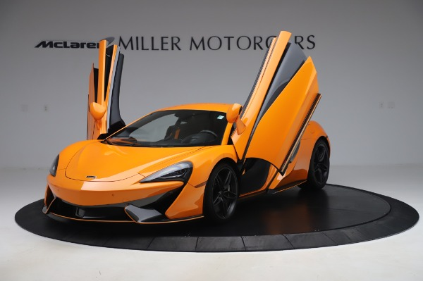 Used 2017 McLaren 570S for sale Call for price at Alfa Romeo of Greenwich in Greenwich CT 06830 13