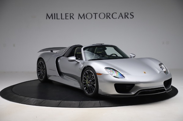 Used 2015 Porsche 918 Spyder for sale $1,389,900 at Alfa Romeo of Greenwich in Greenwich CT 06830 10