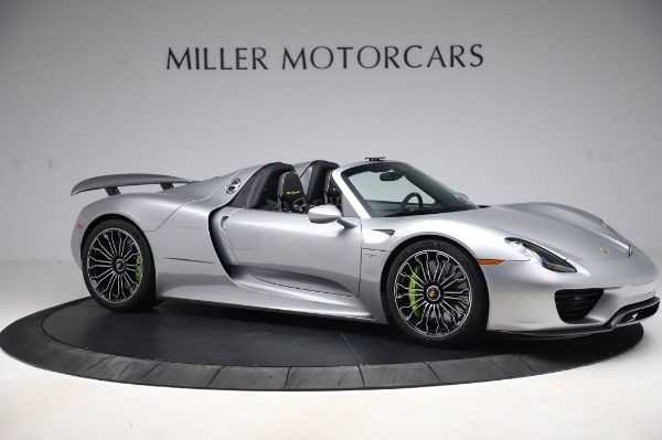 Used 2015 Porsche 918 Spyder for sale $1,389,900 at Alfa Romeo of Greenwich in Greenwich CT 06830 11
