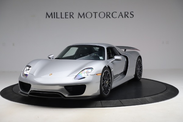 Used 2015 Porsche 918 Spyder for sale $1,389,900 at Alfa Romeo of Greenwich in Greenwich CT 06830 14