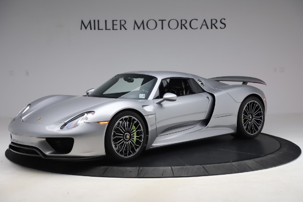Used 2015 Porsche 918 Spyder for sale $1,389,900 at Alfa Romeo of Greenwich in Greenwich CT 06830 16