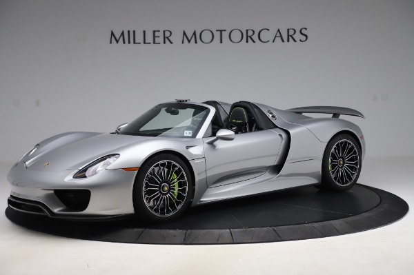 Used 2015 Porsche 918 Spyder for sale $1,389,900 at Alfa Romeo of Greenwich in Greenwich CT 06830 2