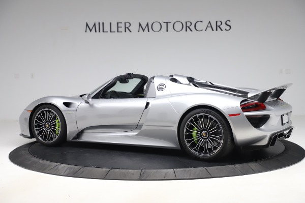 Used 2015 Porsche 918 Spyder for sale $1,389,900 at Alfa Romeo of Greenwich in Greenwich CT 06830 4