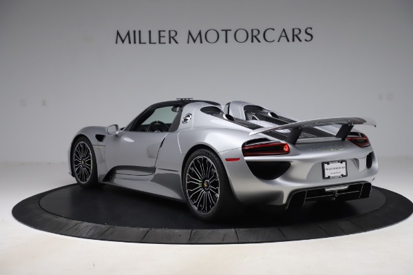 Used 2015 Porsche 918 Spyder for sale $1,389,900 at Alfa Romeo of Greenwich in Greenwich CT 06830 5