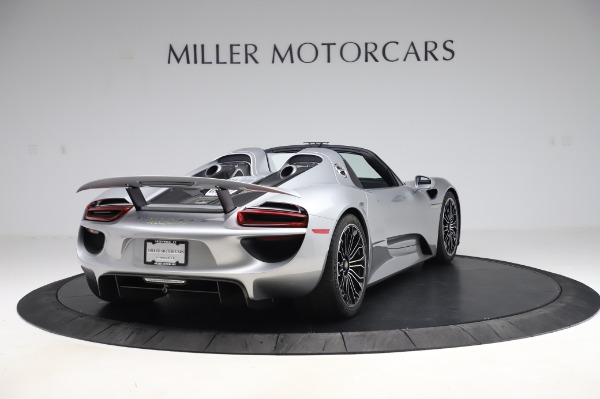 Used 2015 Porsche 918 Spyder for sale $1,389,900 at Alfa Romeo of Greenwich in Greenwich CT 06830 7