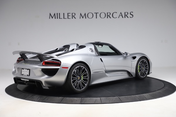 Used 2015 Porsche 918 Spyder for sale $1,389,900 at Alfa Romeo of Greenwich in Greenwich CT 06830 8