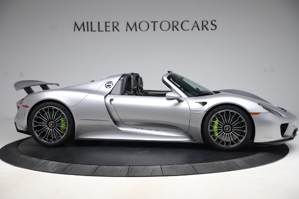 Used 2015 Porsche 918 Spyder for sale $1,389,900 at Alfa Romeo of Greenwich in Greenwich CT 06830 9