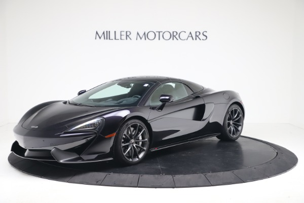 Used 2019 McLaren 570S Spider for sale Call for price at Alfa Romeo of Greenwich in Greenwich CT 06830 10