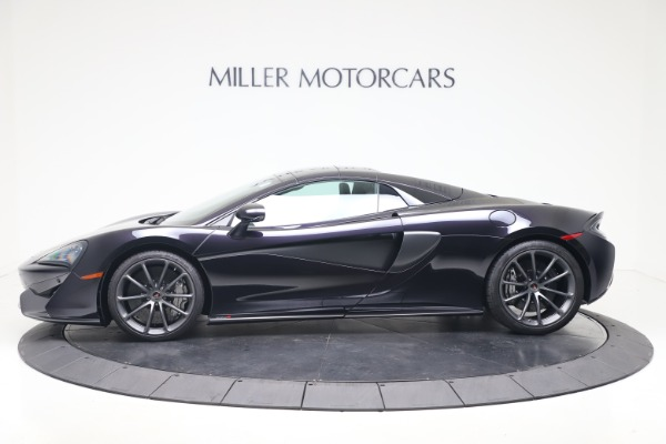 Used 2019 McLaren 570S Spider for sale Call for price at Alfa Romeo of Greenwich in Greenwich CT 06830 11