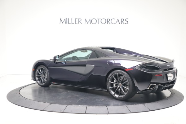 Used 2019 McLaren 570S Spider for sale Call for price at Alfa Romeo of Greenwich in Greenwich CT 06830 12