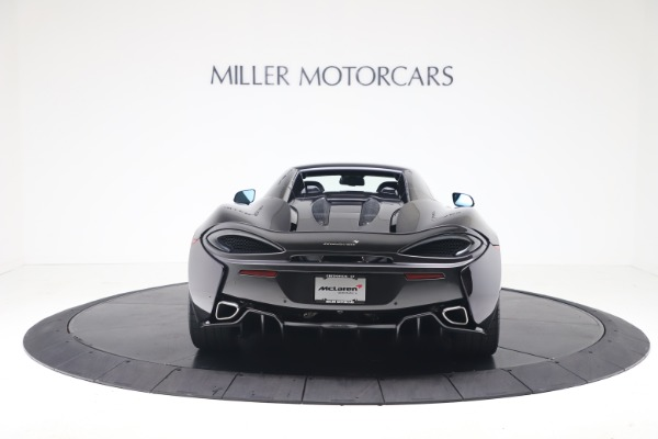 Used 2019 McLaren 570S Spider for sale Call for price at Alfa Romeo of Greenwich in Greenwich CT 06830 13