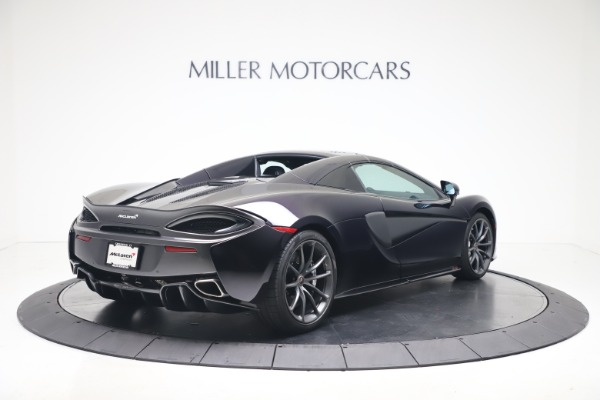 Used 2019 McLaren 570S Spider for sale Call for price at Alfa Romeo of Greenwich in Greenwich CT 06830 14