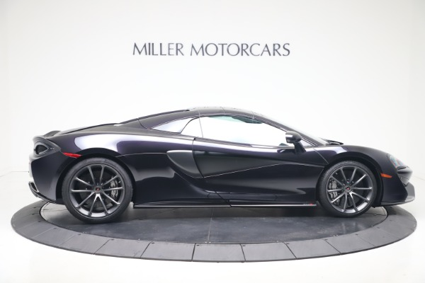 Used 2019 McLaren 570S Spider for sale Call for price at Alfa Romeo of Greenwich in Greenwich CT 06830 15