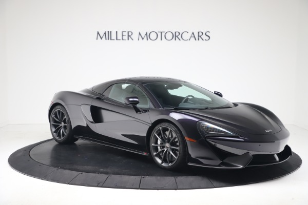 Used 2019 McLaren 570S Spider for sale Call for price at Alfa Romeo of Greenwich in Greenwich CT 06830 16