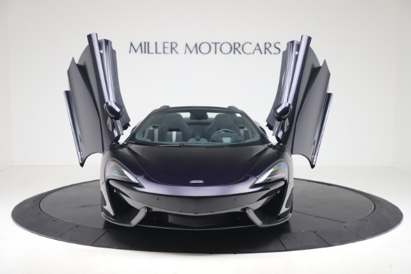 Used 2019 McLaren 570S Spider for sale Call for price at Alfa Romeo of Greenwich in Greenwich CT 06830 17