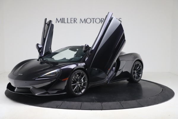 Used 2019 McLaren 570S Spider for sale Call for price at Alfa Romeo of Greenwich in Greenwich CT 06830 18