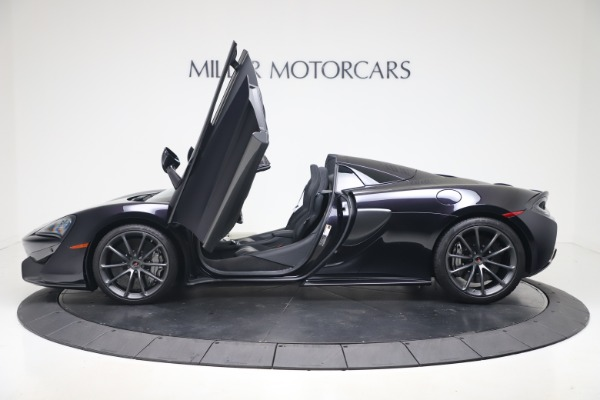 Used 2019 McLaren 570S Spider for sale Call for price at Alfa Romeo of Greenwich in Greenwich CT 06830 19