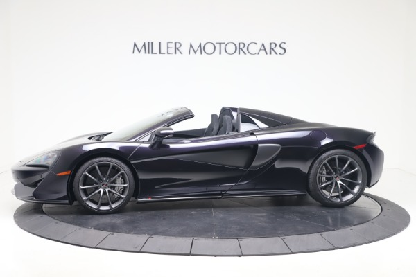Used 2019 McLaren 570S Spider for sale Call for price at Alfa Romeo of Greenwich in Greenwich CT 06830 2
