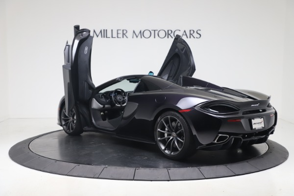 Used 2019 McLaren 570S Spider for sale Call for price at Alfa Romeo of Greenwich in Greenwich CT 06830 20