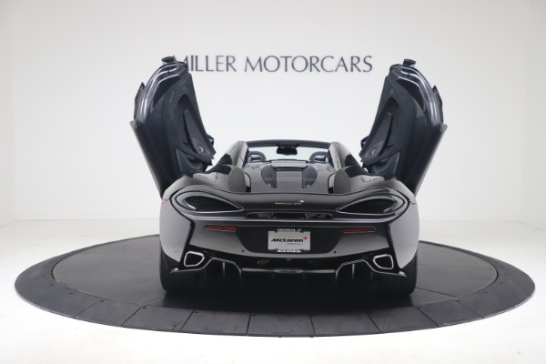 Used 2019 McLaren 570S Spider for sale Call for price at Alfa Romeo of Greenwich in Greenwich CT 06830 21