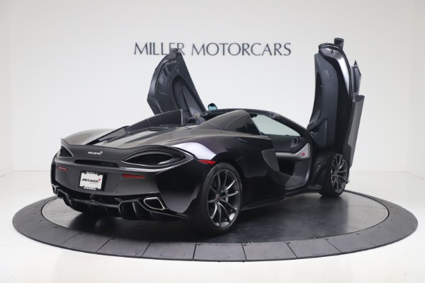 Used 2019 McLaren 570S Spider for sale Call for price at Alfa Romeo of Greenwich in Greenwich CT 06830 22