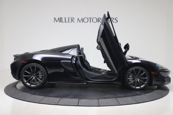 Used 2019 McLaren 570S Spider for sale Call for price at Alfa Romeo of Greenwich in Greenwich CT 06830 23