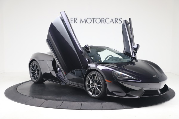 Used 2019 McLaren 570S Spider for sale Call for price at Alfa Romeo of Greenwich in Greenwich CT 06830 24