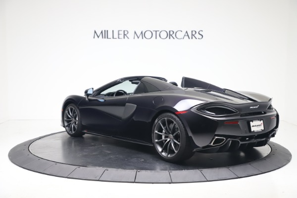 Used 2019 McLaren 570S Spider for sale Call for price at Alfa Romeo of Greenwich in Greenwich CT 06830 3