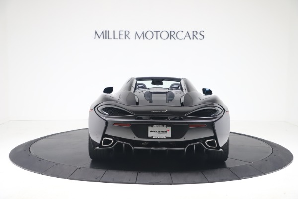 Used 2019 McLaren 570S Spider for sale Call for price at Alfa Romeo of Greenwich in Greenwich CT 06830 4