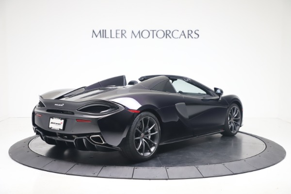Used 2019 McLaren 570S Spider for sale Call for price at Alfa Romeo of Greenwich in Greenwich CT 06830 5