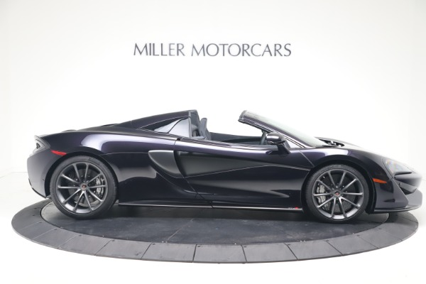 Used 2019 McLaren 570S Spider Convertible for sale $189,900 at Alfa Romeo of Greenwich in Greenwich CT 06830 6