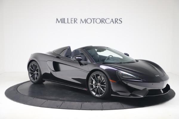 Used 2019 McLaren 570S Spider for sale Call for price at Alfa Romeo of Greenwich in Greenwich CT 06830 7