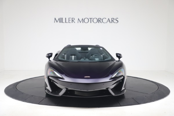 Used 2019 McLaren 570S Spider for sale Call for price at Alfa Romeo of Greenwich in Greenwich CT 06830 8
