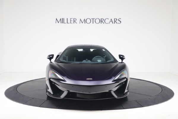 Used 2019 McLaren 570S Spider for sale Call for price at Alfa Romeo of Greenwich in Greenwich CT 06830 9