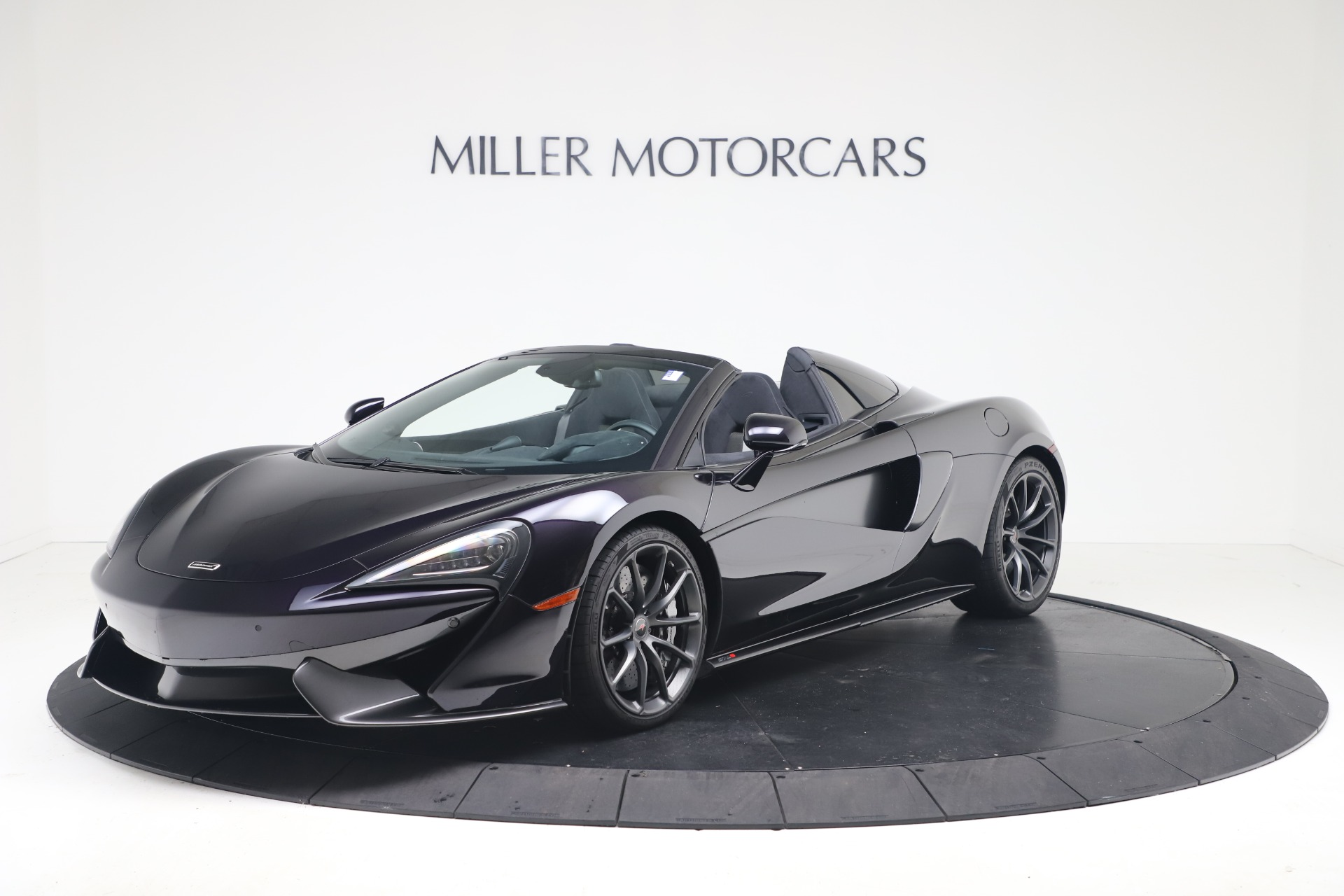 Used 2019 McLaren 570S Spider for sale Call for price at Alfa Romeo of Greenwich in Greenwich CT 06830 1