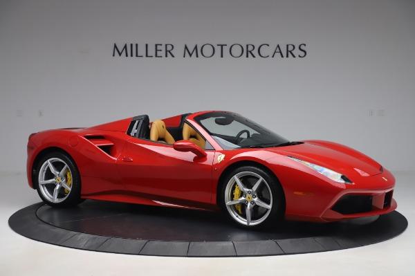 Used 2018 Ferrari 488 Spider Base for sale $289,900 at Alfa Romeo of Greenwich in Greenwich CT 06830 10