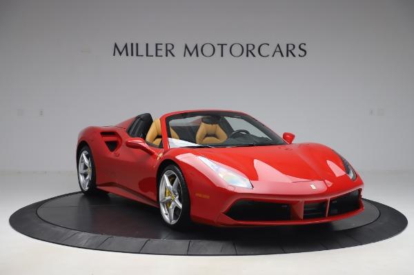 Used 2018 Ferrari 488 Spider Base for sale $289,900 at Alfa Romeo of Greenwich in Greenwich CT 06830 11