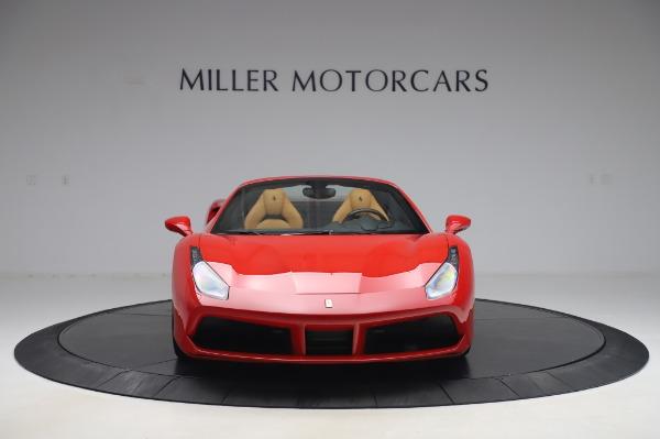 Used 2018 Ferrari 488 Spider Base for sale $289,900 at Alfa Romeo of Greenwich in Greenwich CT 06830 12