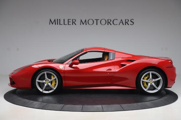 Used 2018 Ferrari 488 Spider Base for sale $289,900 at Alfa Romeo of Greenwich in Greenwich CT 06830 13