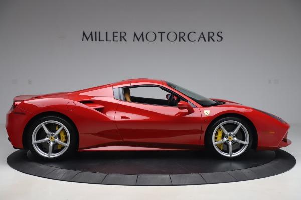 Used 2018 Ferrari 488 Spider Base for sale $289,900 at Alfa Romeo of Greenwich in Greenwich CT 06830 16