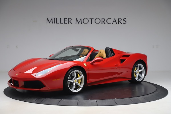 Used 2018 Ferrari 488 Spider Base for sale $289,900 at Alfa Romeo of Greenwich in Greenwich CT 06830 2