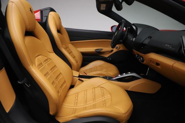 Used 2018 Ferrari 488 Spider Base for sale $289,900 at Alfa Romeo of Greenwich in Greenwich CT 06830 24