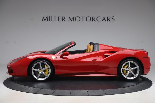 Used 2018 Ferrari 488 Spider Base for sale $289,900 at Alfa Romeo of Greenwich in Greenwich CT 06830 3