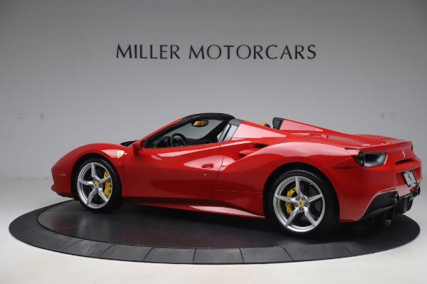 Used 2018 Ferrari 488 Spider Base for sale $289,900 at Alfa Romeo of Greenwich in Greenwich CT 06830 4