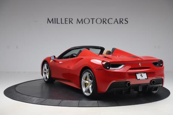 Used 2018 Ferrari 488 Spider Base for sale $289,900 at Alfa Romeo of Greenwich in Greenwich CT 06830 5