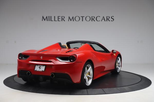 Used 2018 Ferrari 488 Spider Base for sale $289,900 at Alfa Romeo of Greenwich in Greenwich CT 06830 7