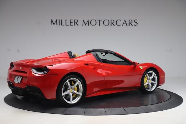 Used 2018 Ferrari 488 Spider Base for sale $289,900 at Alfa Romeo of Greenwich in Greenwich CT 06830 8