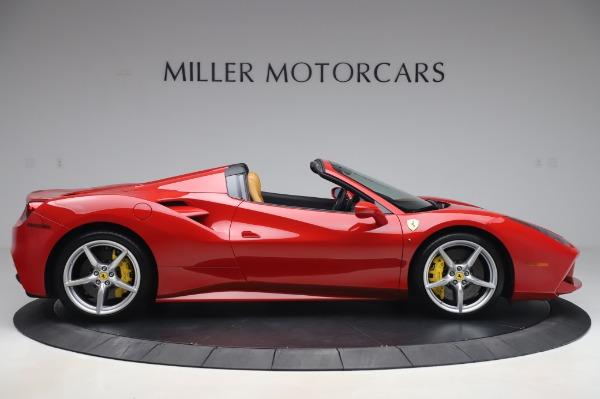 Used 2018 Ferrari 488 Spider Base for sale $289,900 at Alfa Romeo of Greenwich in Greenwich CT 06830 9